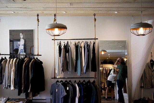 アパレル・衣料品店のイメージ