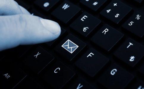メール配信のイメージ