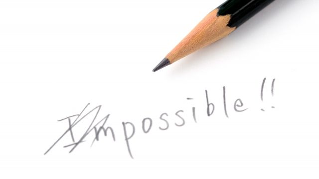 不可能を可能にするイメージ