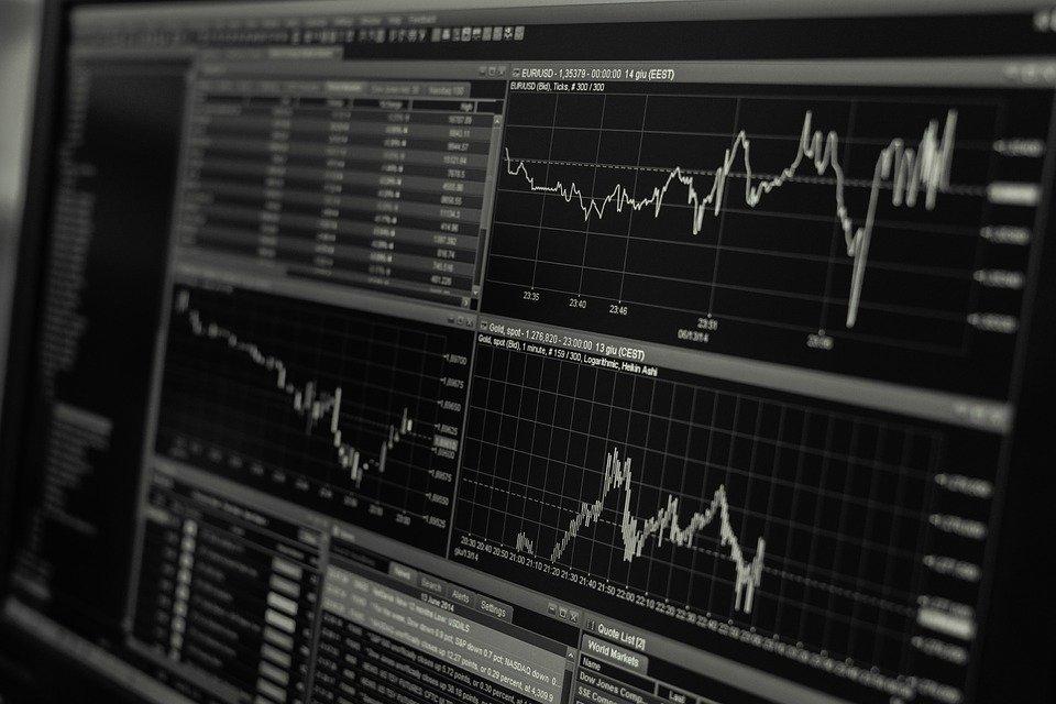 投資チャートのイメージ
