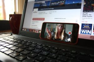 動画収録のイメージ