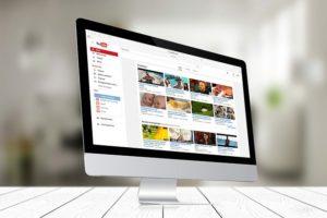 YouTube動画投稿サイトのイメージ