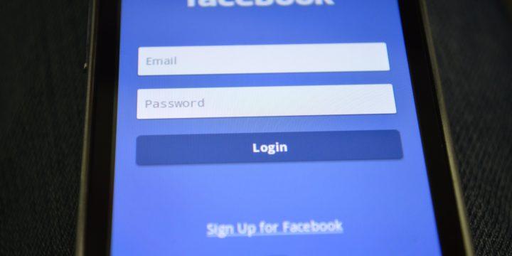 Facebookのログインイメージ